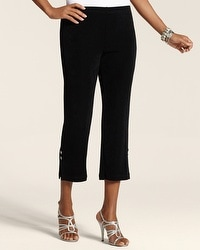 Travelers Classic Ankle Button Crop