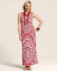 Tribal Sunrise Katrina Dress