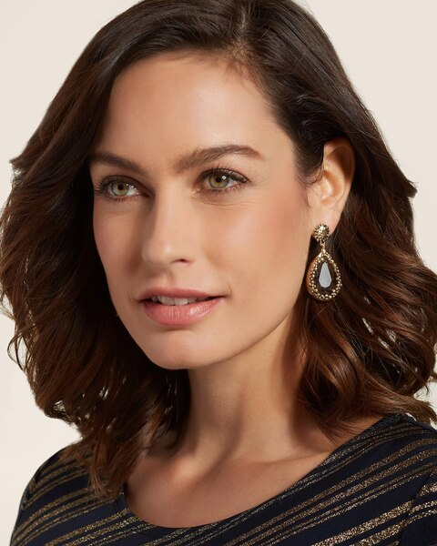 Sara Drop Pendant Earrings