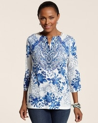 Sanibel Blues Sansia Top