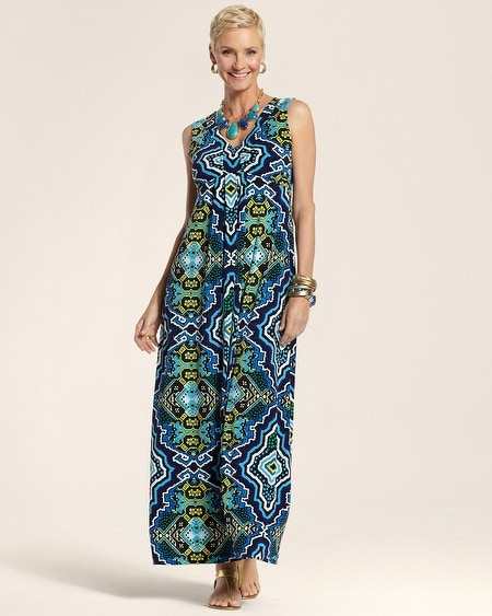 Tropical Medallion Gia Dress