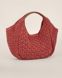 Bridget Straw Shoulder Bag