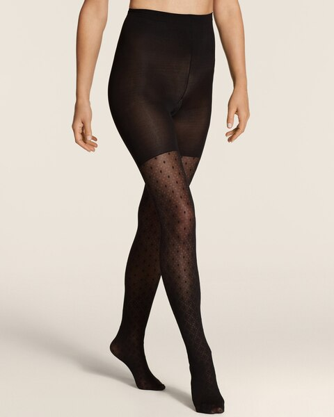 Spanx Dotted Lines Fashion Tights