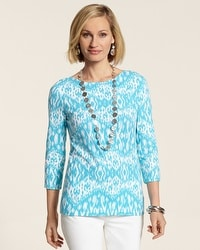 Ikat Delight Gigi Top