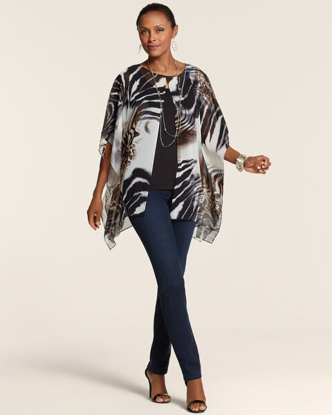 Bold Animal Fly Away Poncho