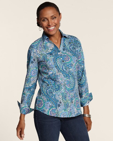Effortless Paisley Laria Top
