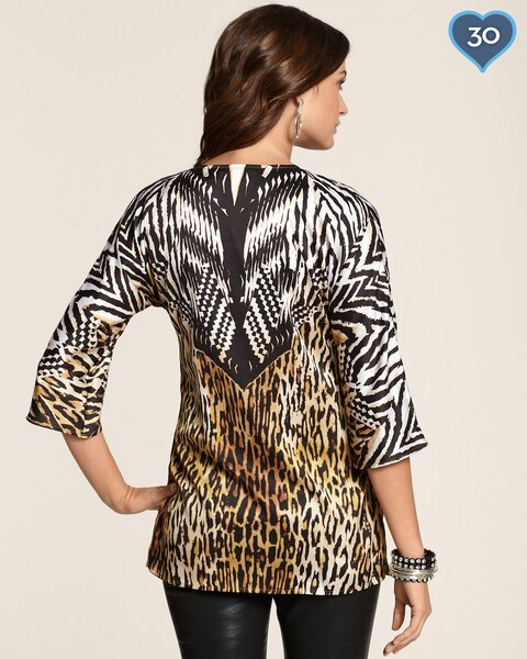 Geo Animal Denea Top