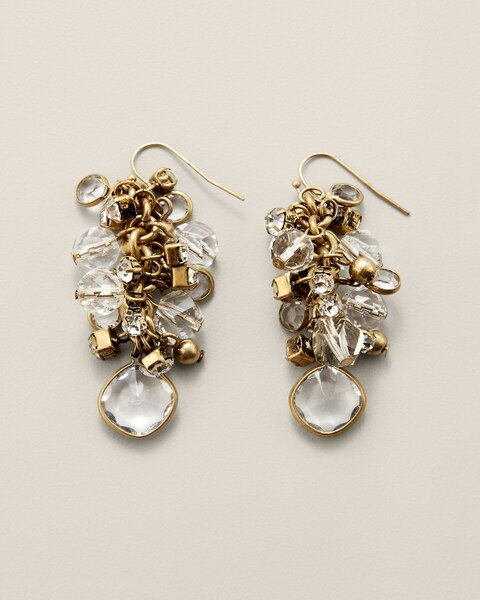 Paris Cluster Earrings