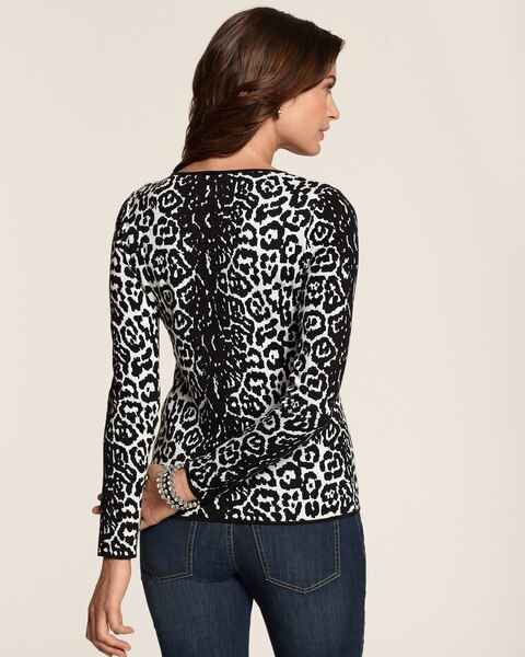 Graphic Cheetah Mindy Pullover