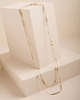 Hexie Multi-Strand Necklace