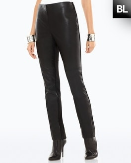 Black Label Ponte Pleather Legging