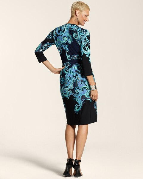 Paisley Wrap Polly Dress
