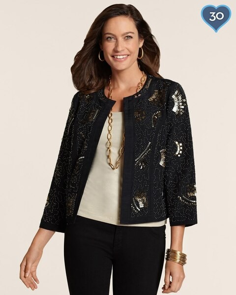 Embellished Artisan Jacket