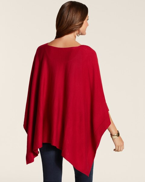 Button Beauty Poncho