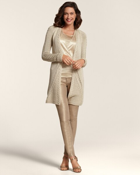 Louisa Lurex Cardigan