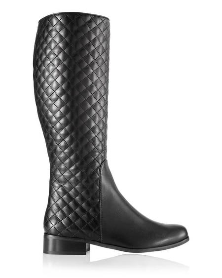 Rewa Quilted Nappa Knee Boot