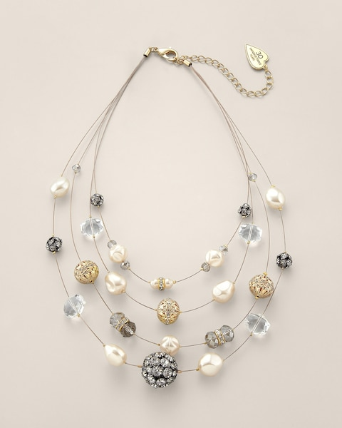 Amelia Illusion Necklace