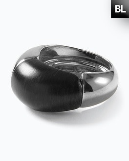 Black Label Split Resin Ring