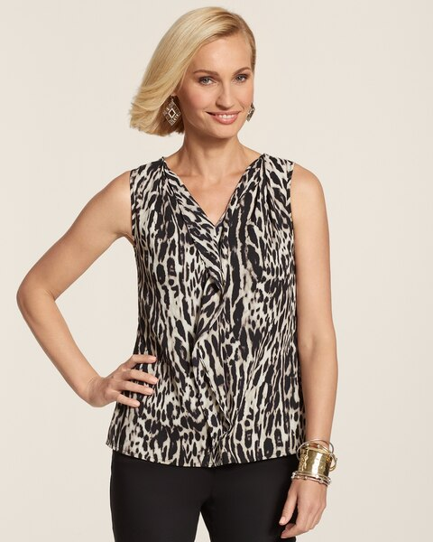 Animal Ruffles Lana Tank