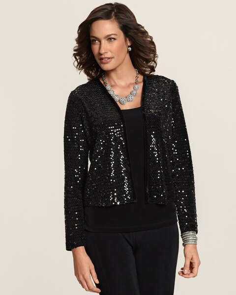 Sequin Grace Jacket
