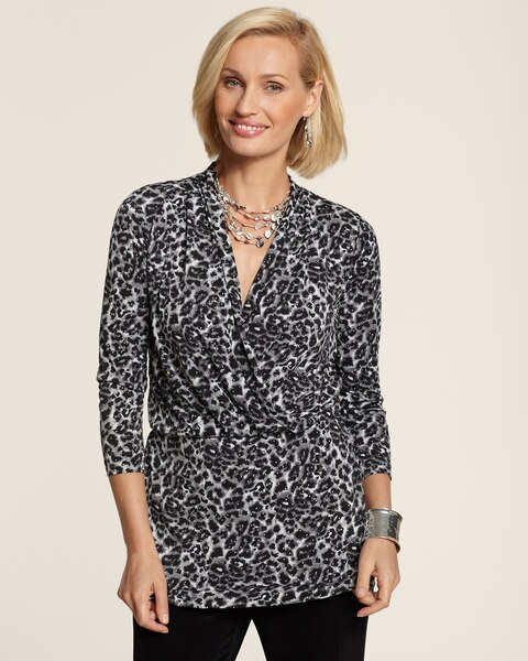 Snow Leopard Brooklyn Top