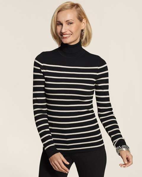 Ellie Stripe Turtleneck