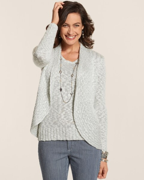 Laurel Lurex Cardigan
