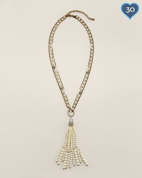 Amelia Tassel Necklace
