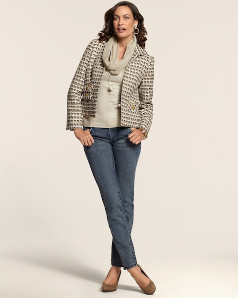Neutral Tweed Jacket