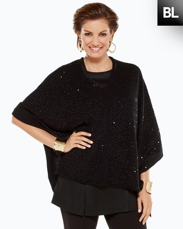 Black Label Sequin Covering