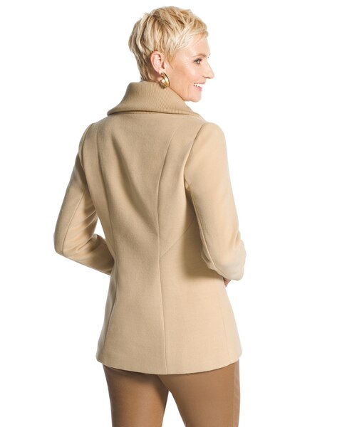 Long Moto Smooth Plush Jacket