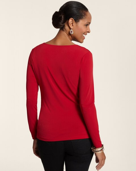 Forward Shoulder Drape Top