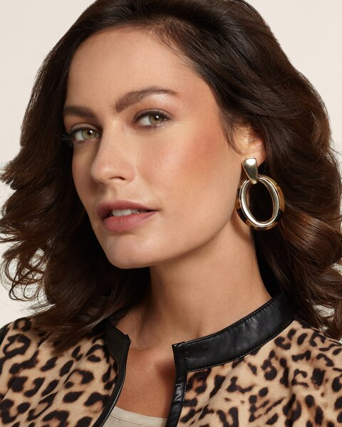 Simone Clip Earrings