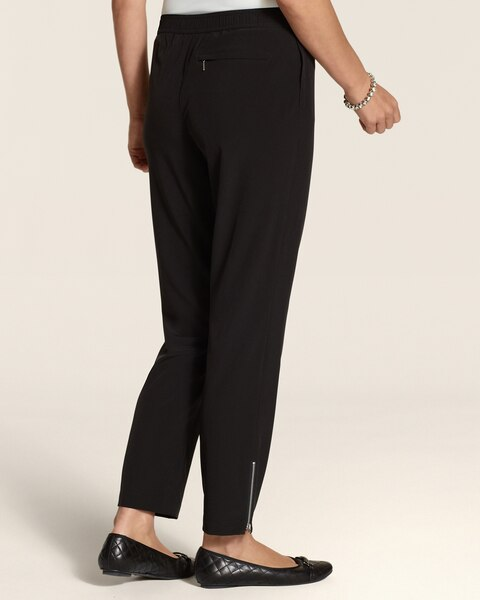 Neema Slim Zip Ankle Pants