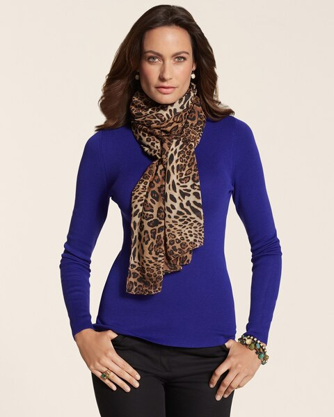Leopard-Print Scarf to Benefit Stand Up To Cancer