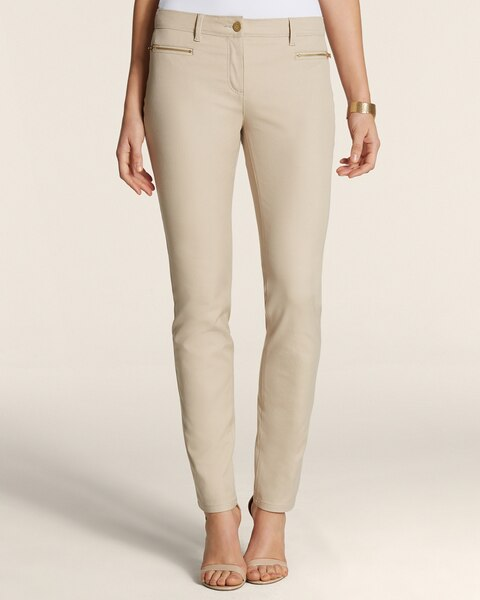 By Chico's Getaway Zip Pocket Ankle Pants