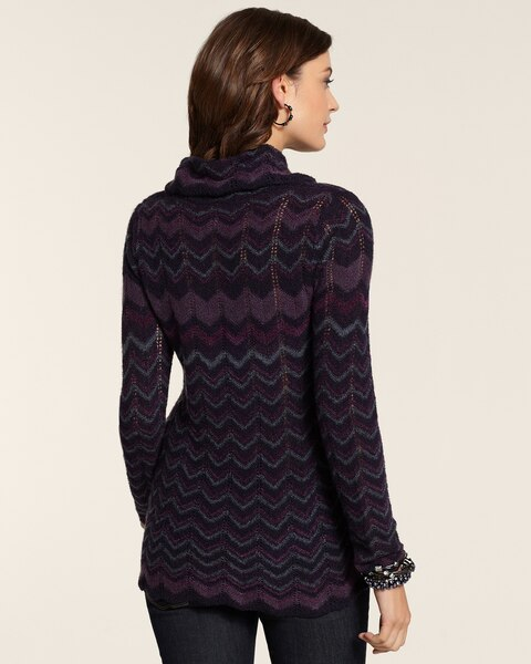 Flame Stitch Chelsea Pullover