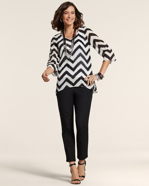 Chic Chevron Candie Top