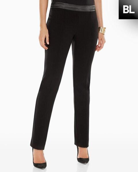 Luxe Pintuck Pants