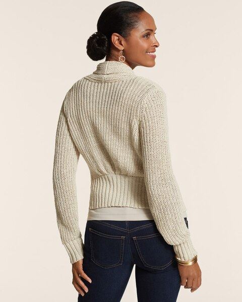 Ruched Back Bridgette Cardigan