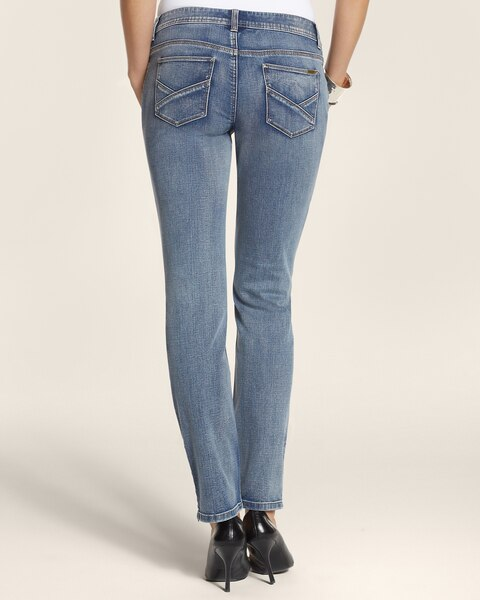 Swan Lake Zip Ankle Jeans