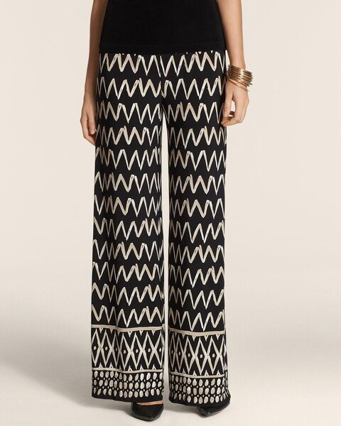 Tiered Traveler Pull-On Pants