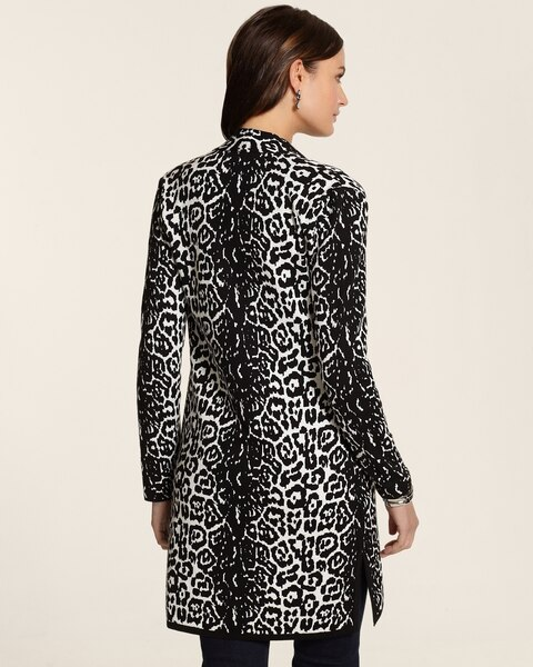 Graphic Cheetah Alexa Sweatercoat