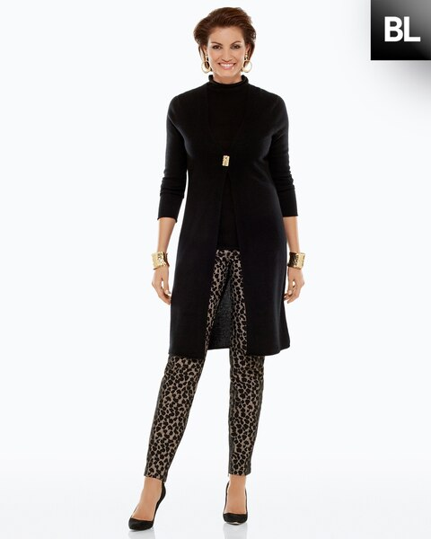Bonded Cheetah Pants
