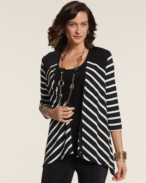 Bold Stripe Jacket