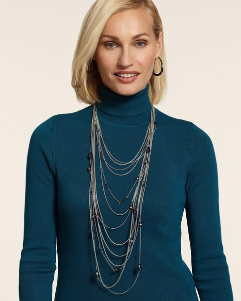 Lydia Multi-Strand Necklace