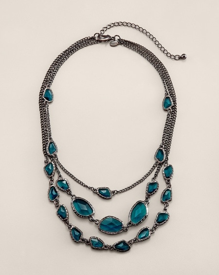 Lydia Short Multi-Strand Necklace
