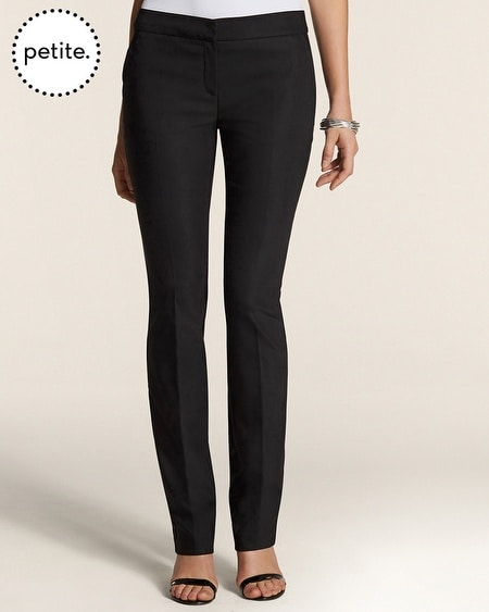 Petite So Slimming By Chico's City Chic Straight Pants