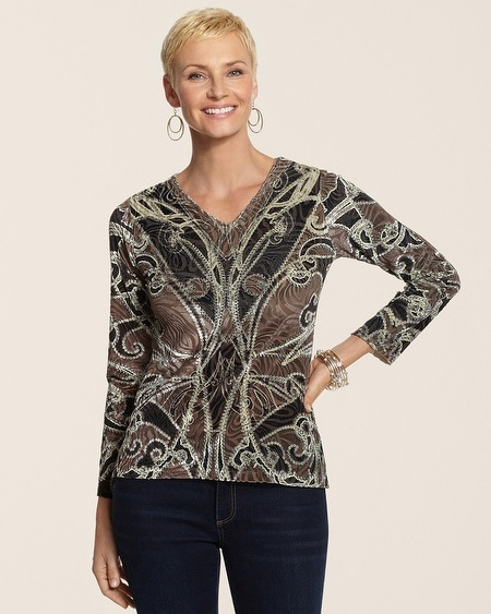Sequin Luxe Daisey Top