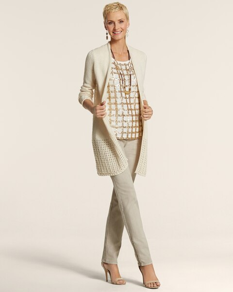 Lace Back Mara Cardigan